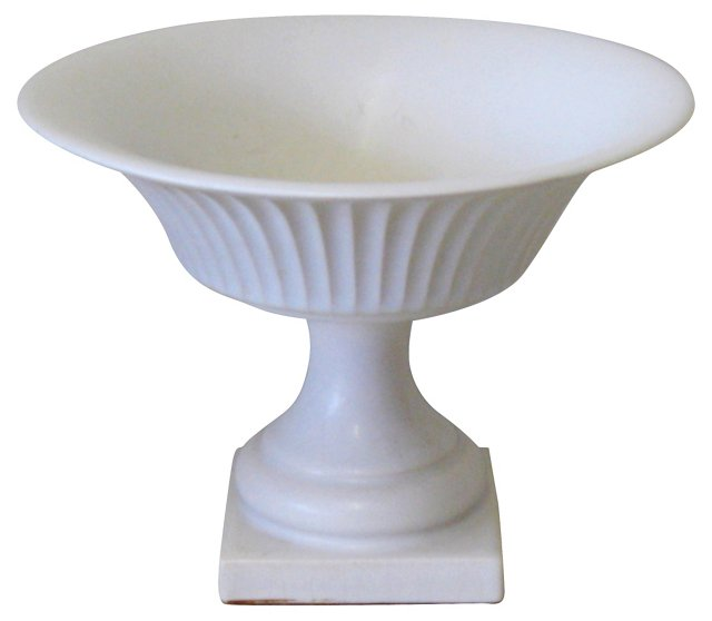 White Porcelain Compote
