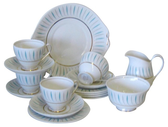 English Tea Set, Svc. for 4