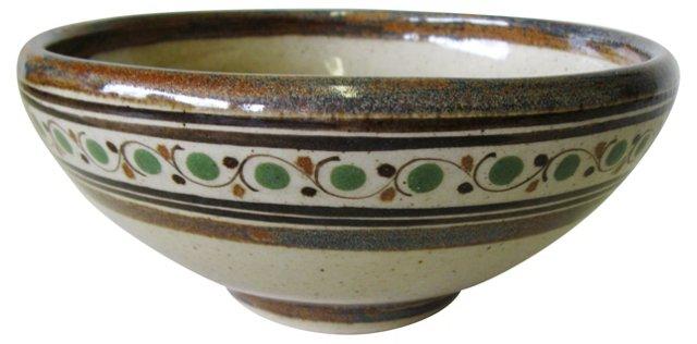 Carlos Villanueva Pottery Bowl