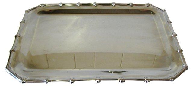 Farberware Bamboo-Style Tray