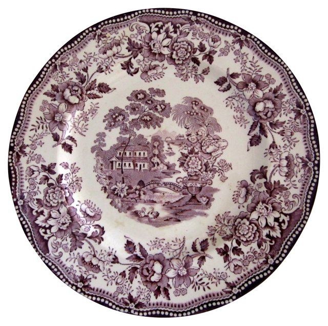 Royal Staffordshire Tonquin Plate