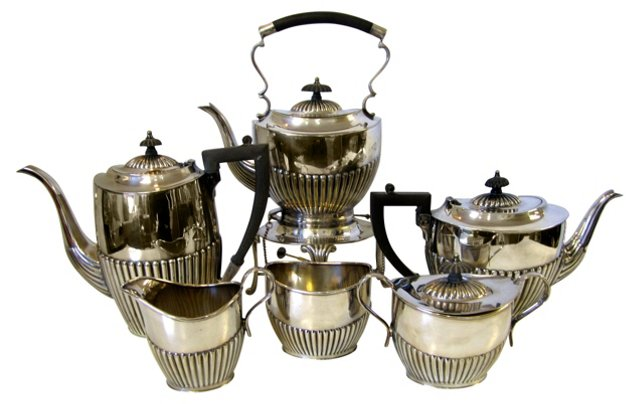 Silverplate Tea & Coffee Service, 6 Pcs