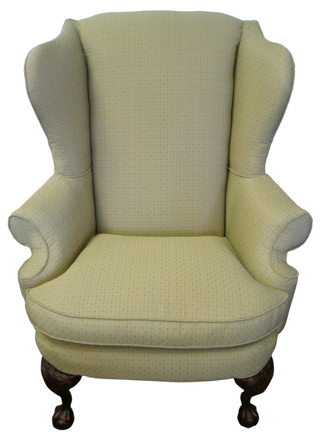 Ball & Claw  Wingback