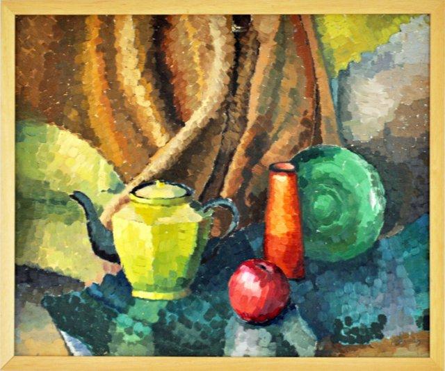 Still Life w/  Yellow Teapot