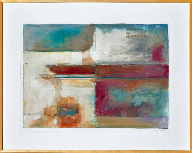 Abstract w/ Random Lines