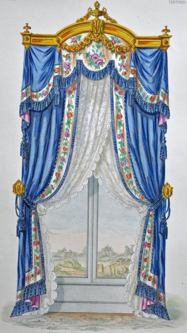 Decor de  Fenetre, Louis XVI