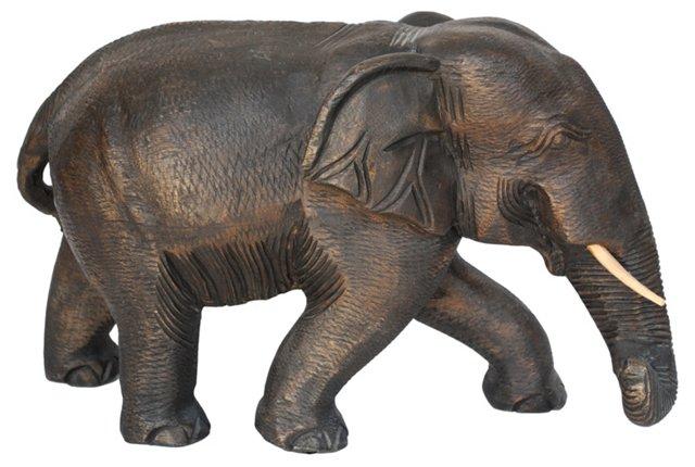 Zimbabwe Wooden Elephant