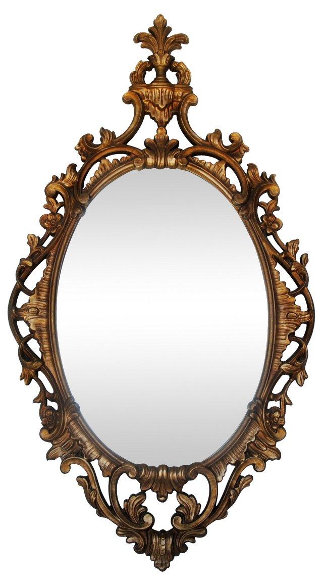 Hollywood Regency-Style Mirror