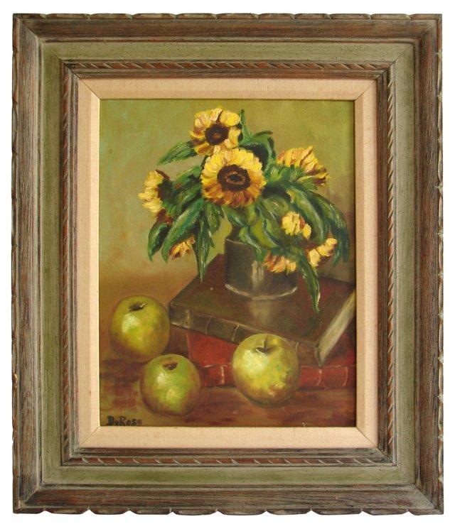 Sunflowers w/ Apples