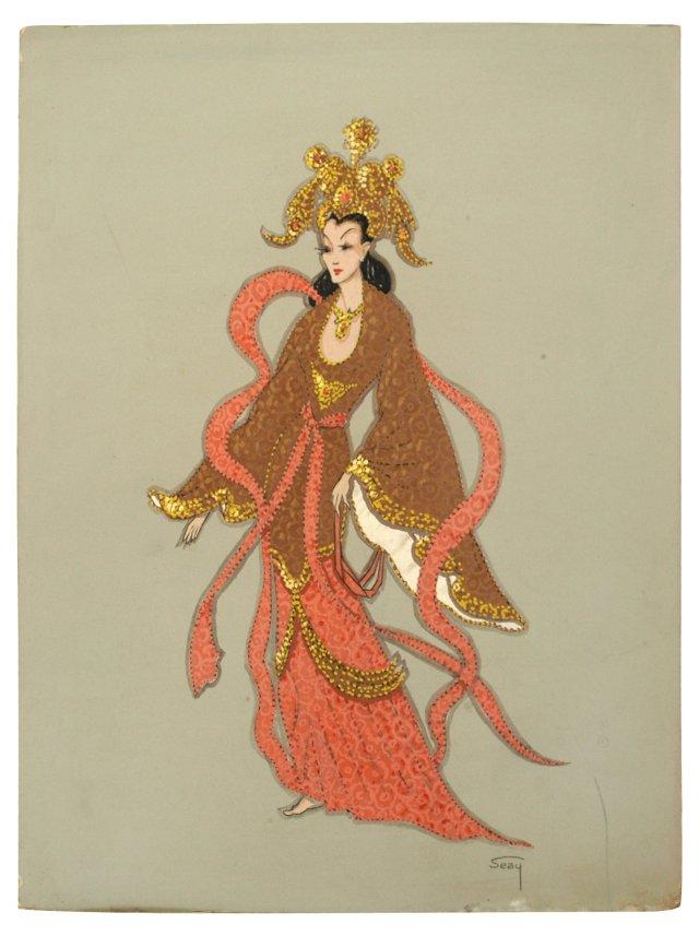 Asian Princess by Bill Seay