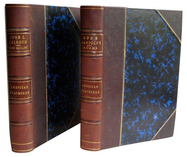 John C. Calhoun & John Randolph, Pair
