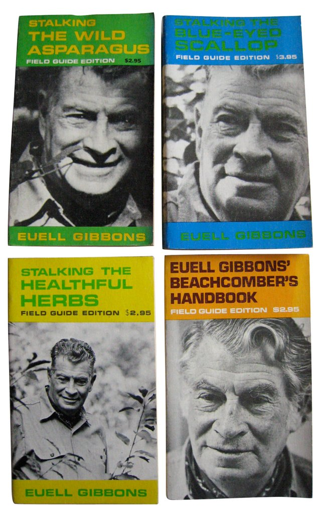 Euell Gibbons Nature Guides, S/4