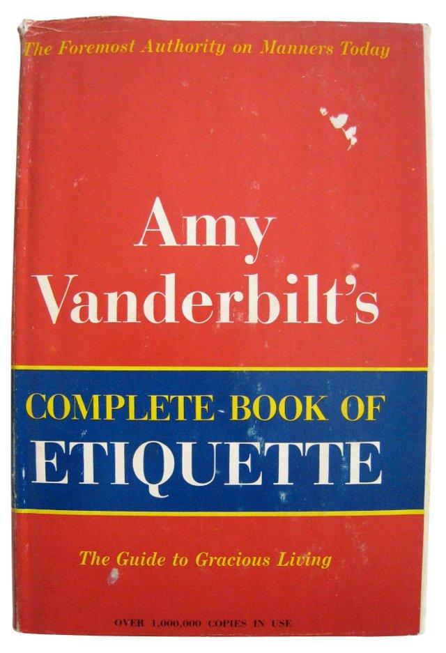 Amy Vanderbilt's Etiquette