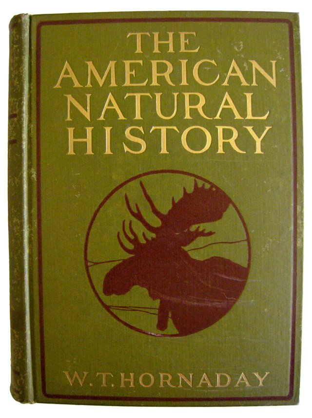 The American Natural History, Signed