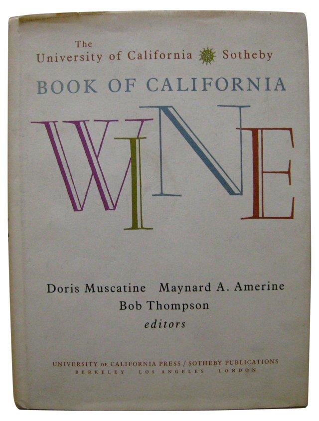 Book of California Wine