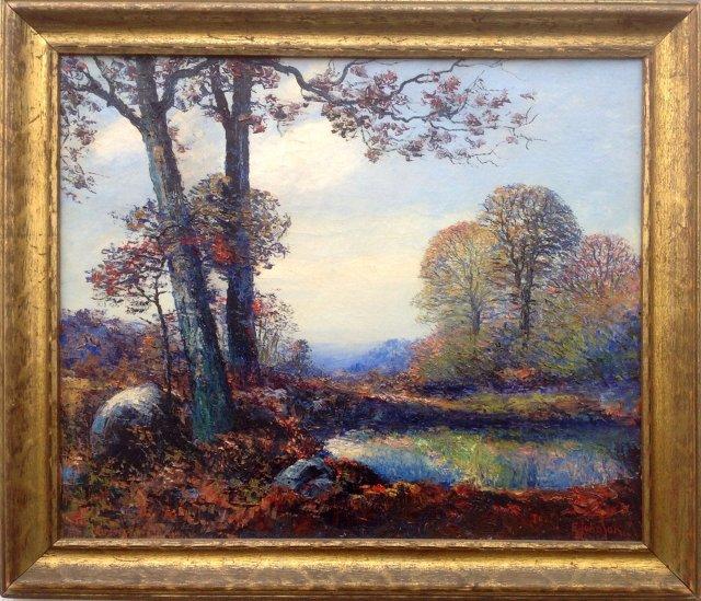 Impressionist Landscape,19thc