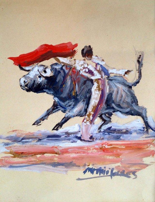 Bullfighter by Antonio Torres