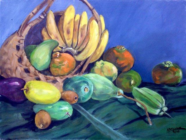 Still Life w/Fruit, 1963