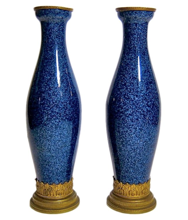 French Sèvres Vases by Paul Milet, Pair