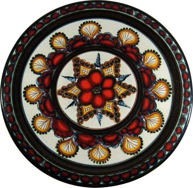 Gebruder Haas Art Pottery Plate